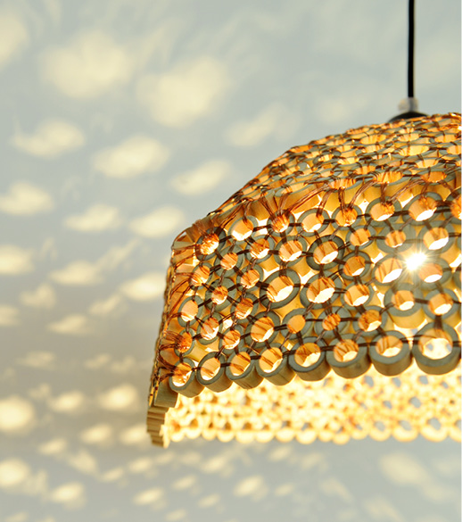 Bamboo lamp fro Tiny MIracles