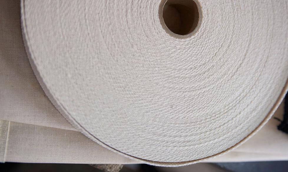 detail of material