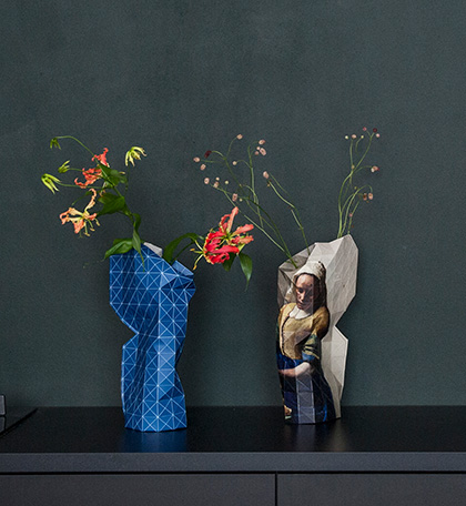 Paper vases from Tiny Miracles